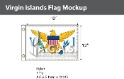 Virgin Islands Flags 12x18 inch