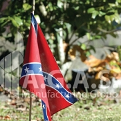 Historical Stick Flags