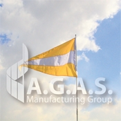 Horizontal Attention Pennant Flags | Choose Colors
