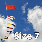 Size 7 International Code of Signals