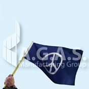 Peace & Earth Stick Flags