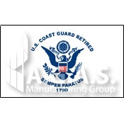 Retired Coast Guard Flags
